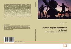 Bookcover of Human capital Formation in Qatar: