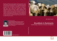 Brucellosis in Ruminants的封面