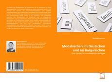 Capa do livro de Modalverben im Deutschen und im Bulgarischen