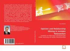 Buchcover von Opinion und Relationship Mining in sozialen Netzwerken