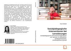 Couverture de Sozialpädagogische Interventionen bei Lernstörungen