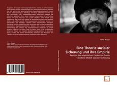 Borítókép a  Eine Theorie sozialer Sicherung und ihre Empirie - hoz