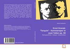 """Buchcover von Ernst Krenek: """"Tarquin"""" - Kammeroper in zwei Teilen op. 90"""