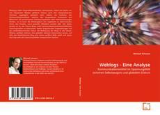 Buchcover von Weblogs - Eine Analyse
