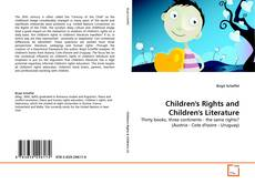 Bookcover of Children's Rights and Children's Literature