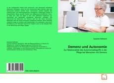 Copertina di Demenz und Autonomie