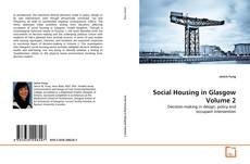 Обложка Social Housing in Glasgow Volume 2