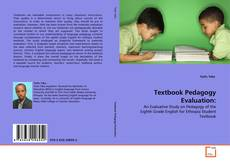 Portada del libro de Textbook Pedagogy Evaluation:
