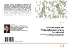 Bookcover of Auswirkungen der Wirtschaftskrise auf den Einzelhandel