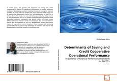 Capa do livro de Determinants of Saving and Credit Cooperative Operational Performance