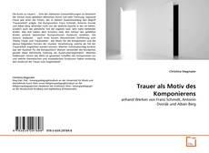 Capa do livro de Trauer als Motiv des Komponierens