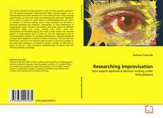 Bookcover of Researching Improvisation