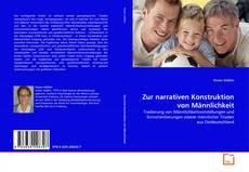 Buchcover von Zur narrativen Konstruktion von Männlichkeit