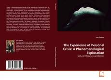 Обложка The Experience of Personal Crisis: A Phenomenological Exploration