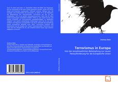 Bookcover of Terrorismus in Europa