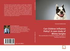 Can Children Influence Policy? A case study of Bhima Sangha kitap kapağı