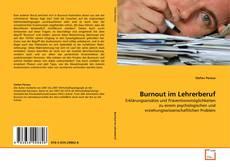 Обложка Burnout im Lehrerberuf