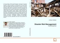 Bookcover of Disaster Risk Management