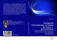 Couverture de Strategische Entscheidungen im Kontext der Finanz- u. Wirtschaftskrise