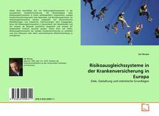Copertina di Risikoausgleichssysteme in der Krankenversicherung in Europa