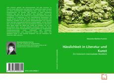 Обложка Hässlichkeit in Literatur und Kunst