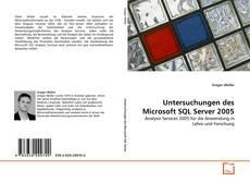 Buchcover von Untersuchungen des Microsoft SQL Server 2005