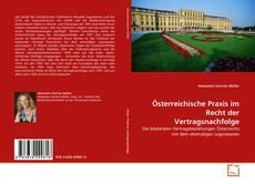 Österreichische Praxis im Recht der Vertragsnachfolge的封面