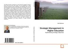 Bookcover of Strategic Management in Higher Education