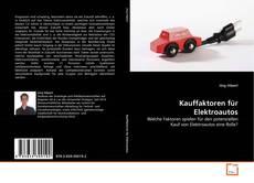 Kauffaktoren für Elektroautos的封面