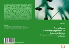 Bookcover of Freiwilliges Arbeitsengagement in Organisationen
