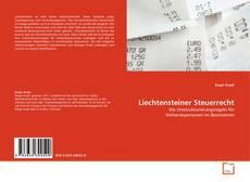 Capa do livro de Liechtensteiner Steuerrecht