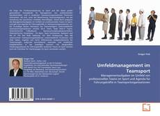Buchcover von Umfeldmanagement im Teamsport