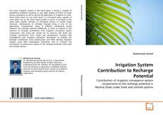 Bookcover of Irrigation System Contribution to Recharge Potential