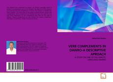 Bookcover of VERB COMPLEMENTS IN DAWRO-A DESCRIPTIVE APROACH