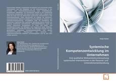 Portada del libro de Systemische Kompetenzentwicklung im Unternehmen