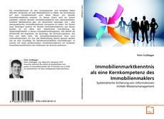 Bookcover of Immobilienmarktkenntnis als eine Kernkompetenz des Immobilienmaklers
