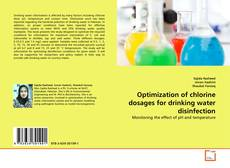 Portada del libro de Optimization of chlorine dosages for drinking water disinfection