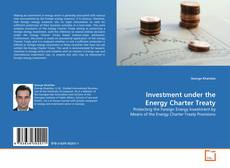 Couverture de Investment under the Energy Charter Treaty