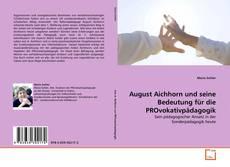 Capa do livro de August Aichhorn und seine Bedeutung für die PROvokativpädagogik