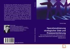 Buchcover von Operationalisierung strategischer Ziele und Prozessorientierung