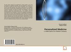 Bookcover of Personalized Medicine
