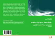 Buchcover von Patent Litigation Strategies