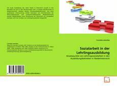 Buchcover von Sozialarbeit in der Lehrlingsausbildung