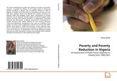 Bookcover of Poverty and Poverty Reduction in Nigeria