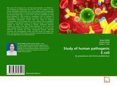 Обложка Study of human pathogenic E.coli