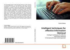Buchcover von Intelligent techniques for effective Information Retrieval