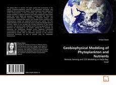 Capa do livro de Geobiophysical Modeling of Phytoplankton and Nutrients