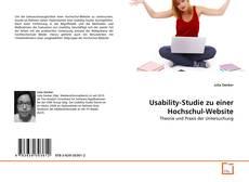Couverture de Usability-Studie zu einer Hochschul-Website