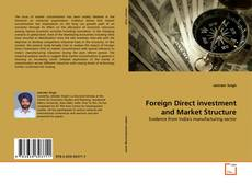 Bookcover of Foreign Direct investment and Market Structure