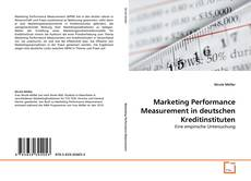 Capa do livro de Marketing Performance Measurement in deutschen Kreditinstituten